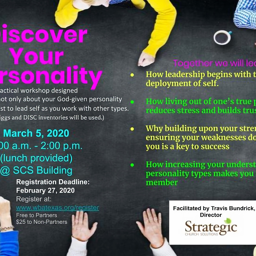 Discover Your Personality