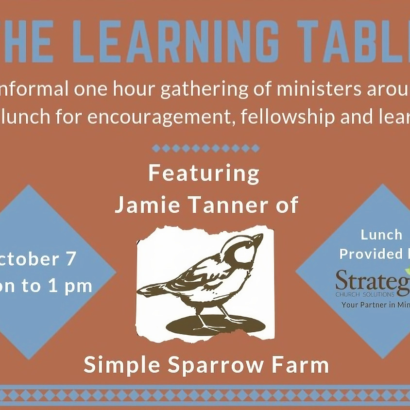 October Learning Table