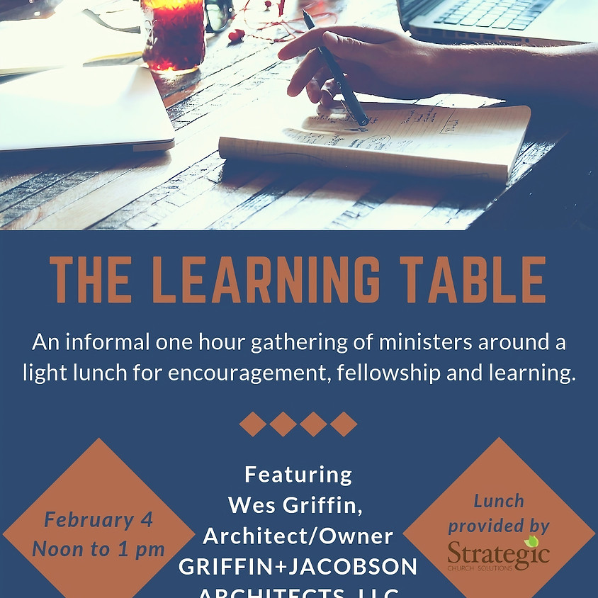February Learning Table Lunch