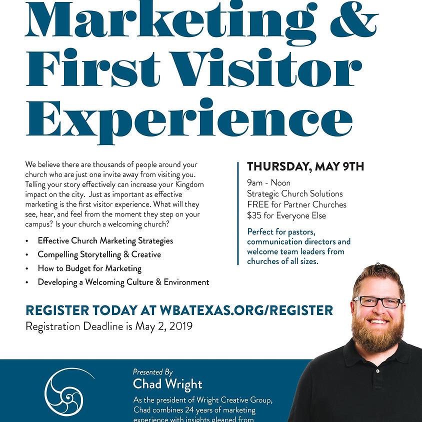 Church Marketing & First Visitor Experience