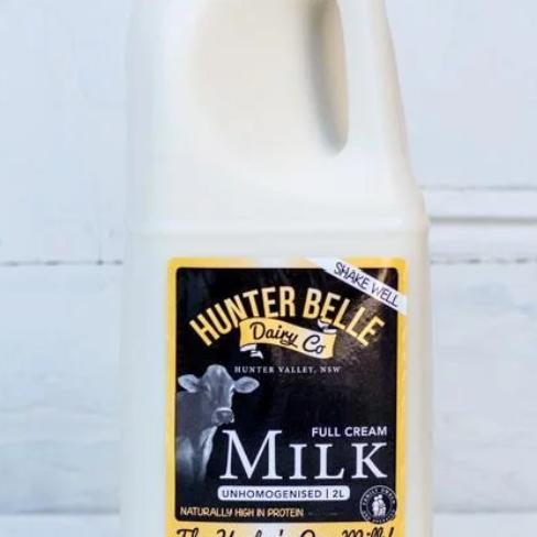 Hunter Belle Milk 2L