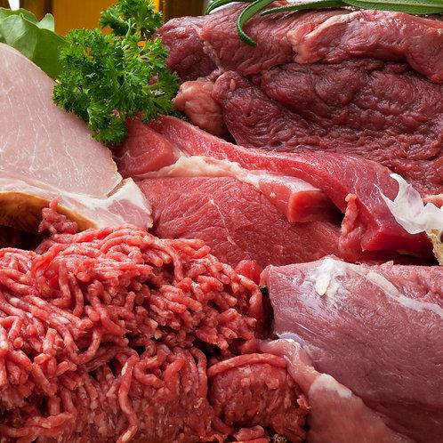 Mixed 15kg Pork, Lamb & Beef Box