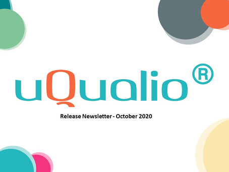 uQualio® Release Newsletter, October 2020