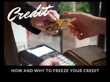 How and why to freeze your credit