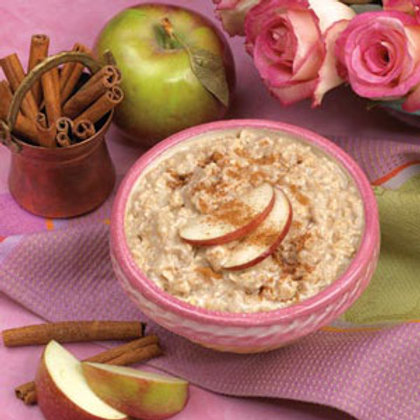 Oatmeal with Apple and Cinnamon