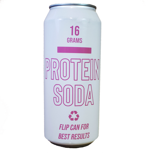 (24 Pack) Protein Soda
