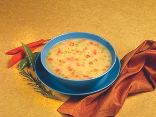 Hearty Cream of Chicken  Soup