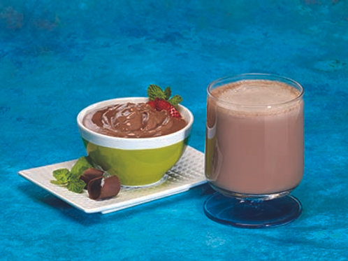 Chocolate Mint Protein Shake/Pudding