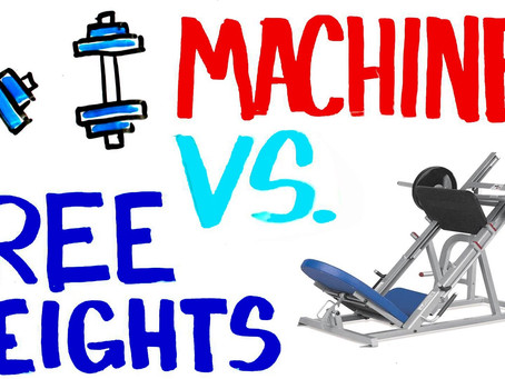Now You Know: Free Weights or Resistance Machines?