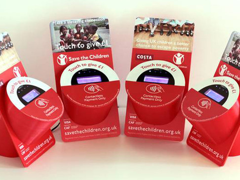 The 100 day proof of concept: the contactless giving tin