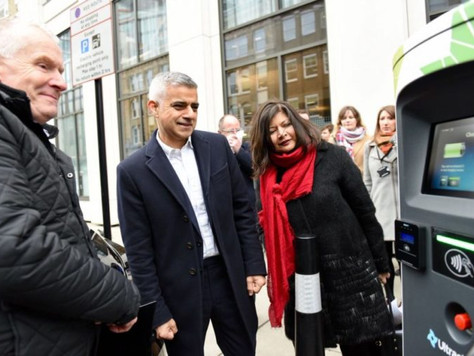 Mayor calls on London boroughs to boost EV infrastructure