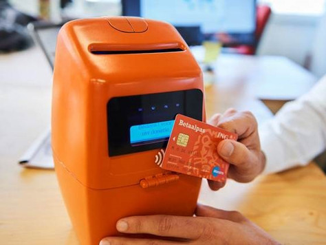 Payter supplies technology for collecting box ING bank.