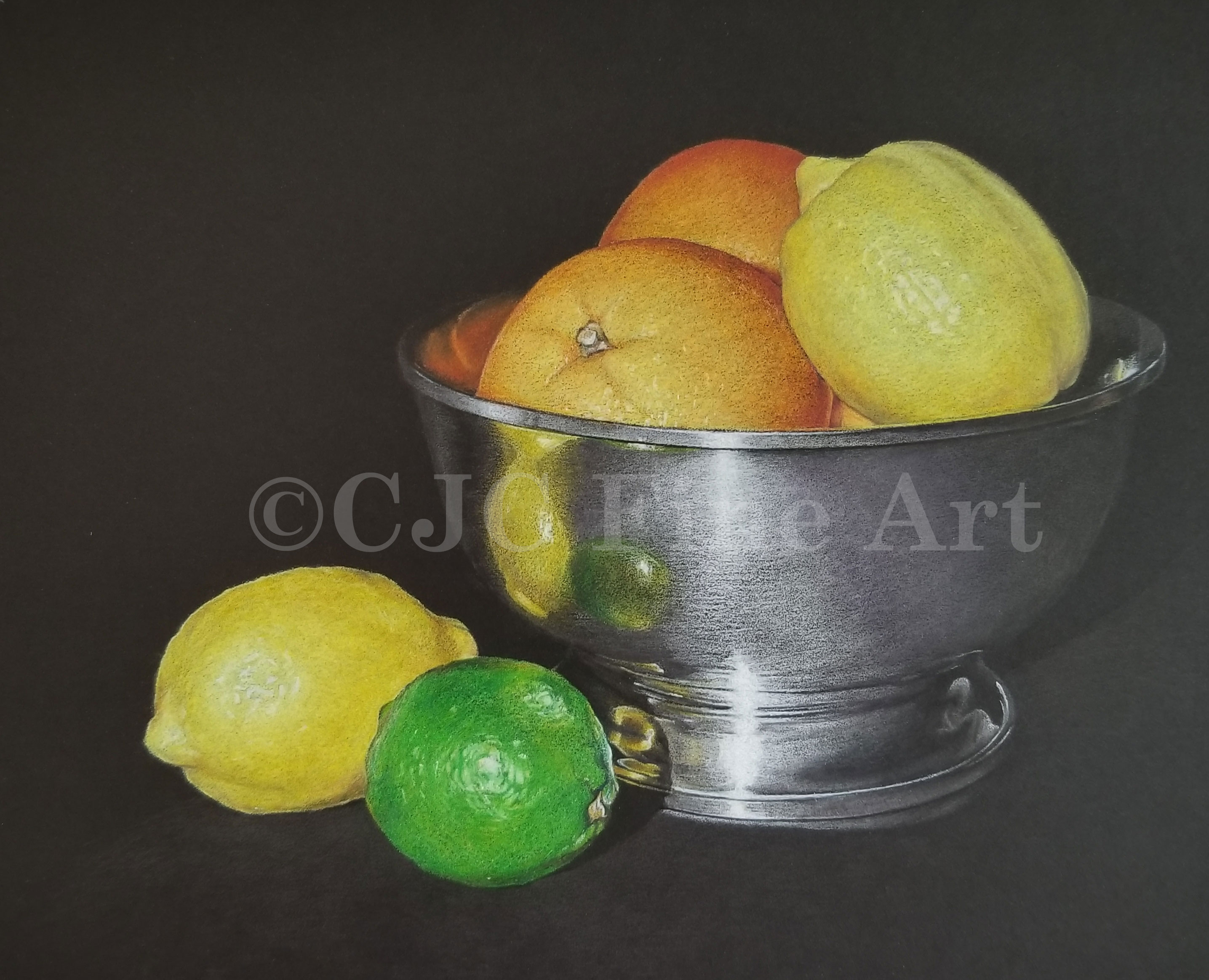 Citrus and Pewter