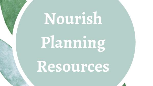 Nourish Homeschool Planning Guide