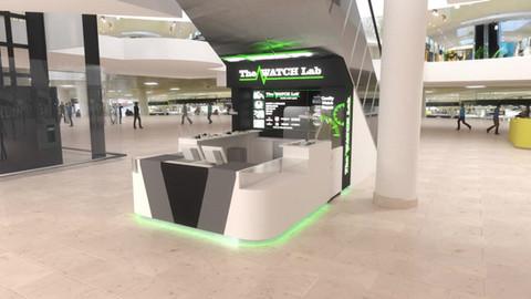Retail kiosk design