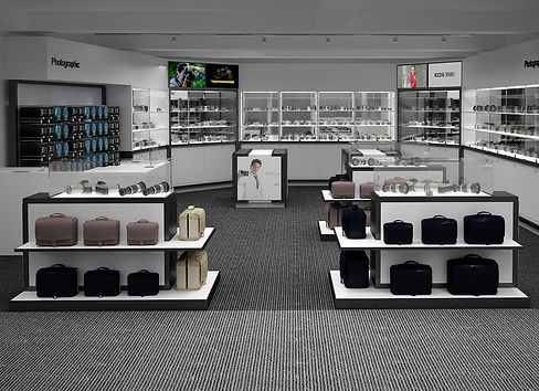 Retail design - interior render