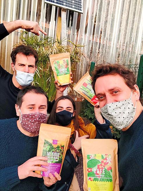 Torréfacteur artisanal de Café Bio Équitable