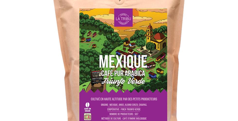 Café Triunfo Verde Mexique Grains 1kg Équitable & Bio