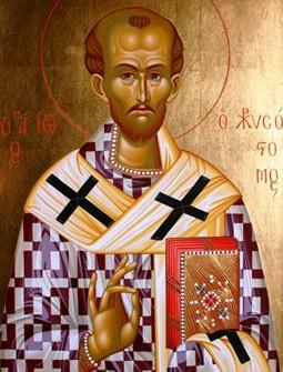 Η κοίμηση του Αγίου Ιωάννη του Χρυσοστόμου