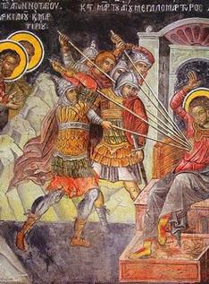 Ο Άγιος Δημήτριος και η εποχή μας