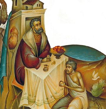 Κυριακή Ε' Λουκά - Ο πλούσιος, ο Λάζαρος και εμείς