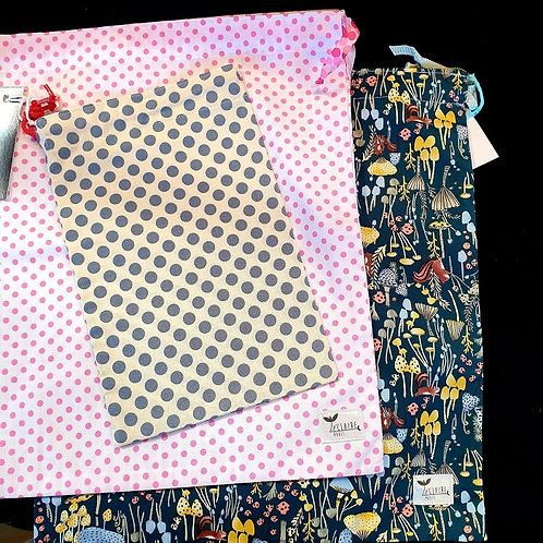 Re-usable Fabric Gift Bags