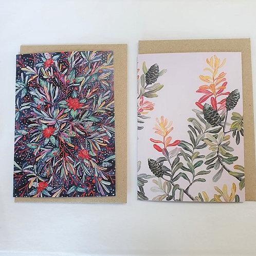 Greeting Cards - Native Australian Plants