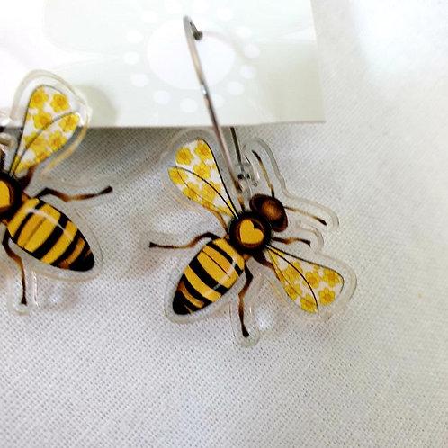 Smyle Designs -  Bee Earrings