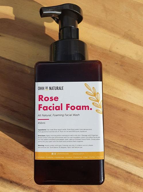 Ohh De Naturale - Rose Facial Foam 450ml