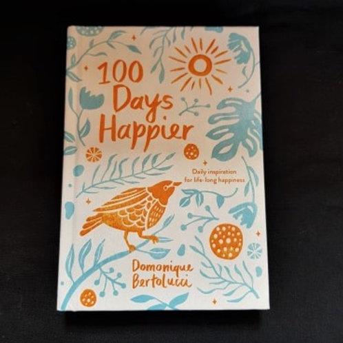 100 Days Happier - Book