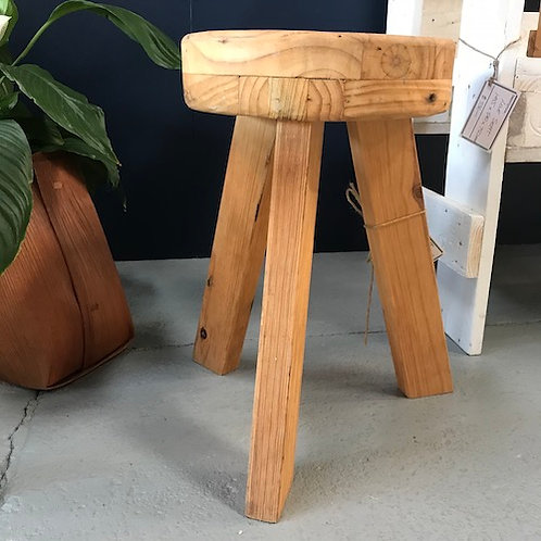 Timber Milking Stool