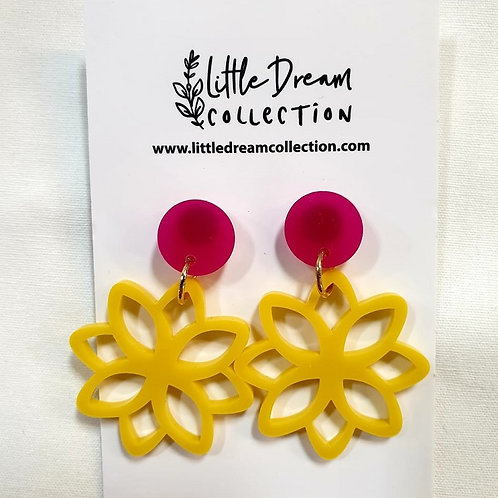 Little Dream Collection -Yellow Flowers
