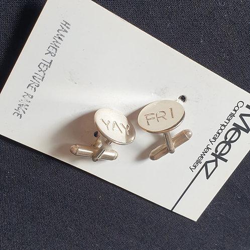 Meekz Jewellery- Fri Yay Cuff Links