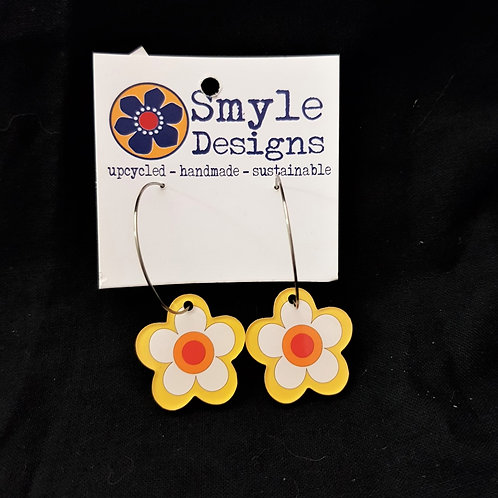 Smyle Designs -  Flower Earrings