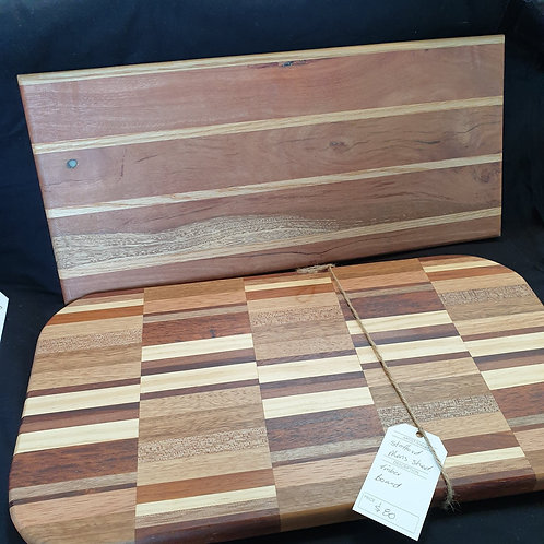 Timber Cutting Display Board - Mens Shed