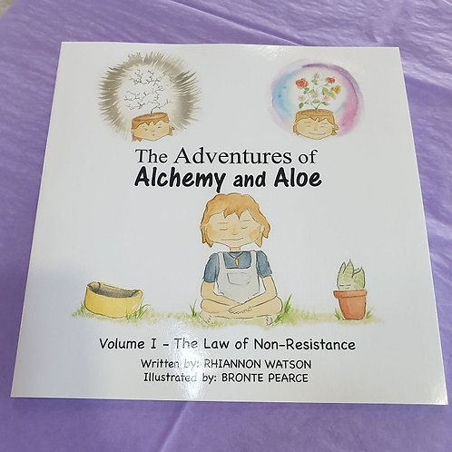 The Adventures of Alchemy and Aloe - Book