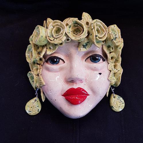 Mandy Lou Wall Face Vase