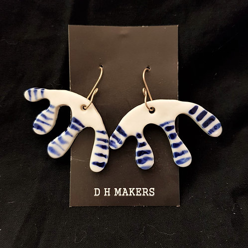 DH Makers - Porcelain Earrings