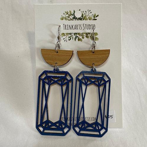 Trinkarts Studio Indigo Drop Earrings