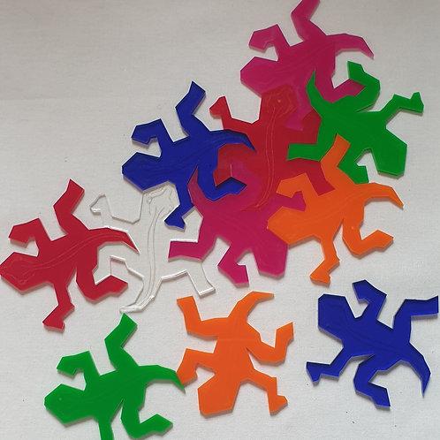 Tessellating Escher Lizards