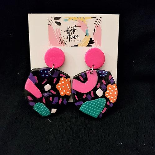 Kath Alice Designs - Shield Stud Earrings