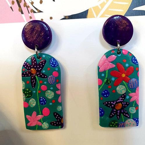 Kath Alice Designs - Handmade Polymer Clay Earrings