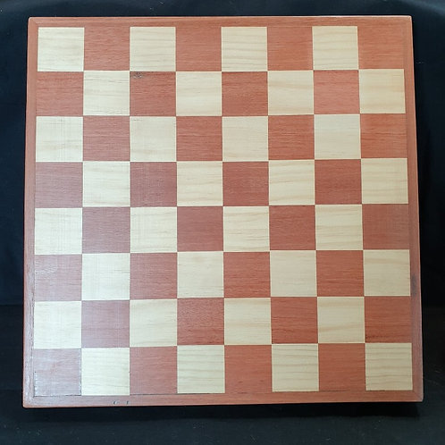 Timber Chess Board - Mens Shed