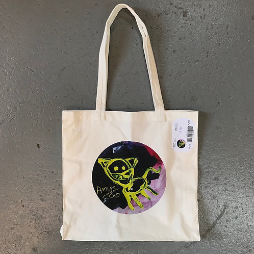 Amy's Zoo Carry Bag - Cat