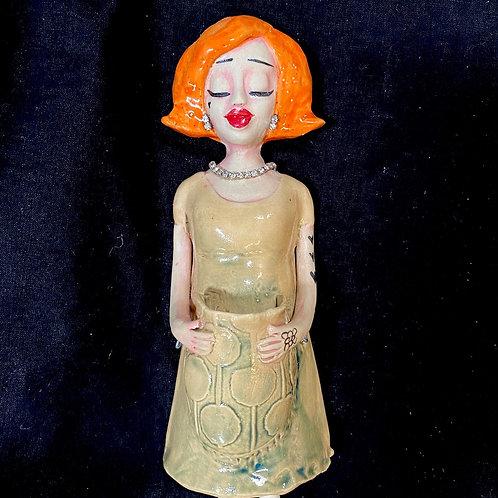 Mandy Lou Wall Hanging Doll