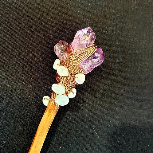Amethyst Crystal Wand