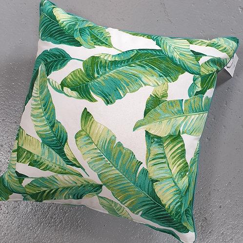 Green Leaf Indoor/Outdoor Cushion