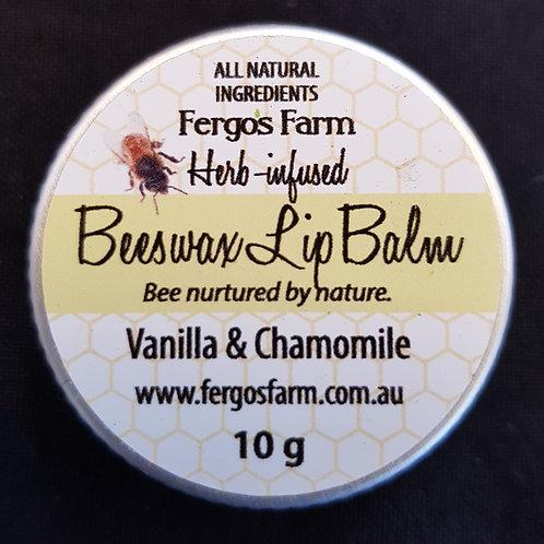 Fergos Farm - Beeswax Lip Balm - Vanilla & Chamomile