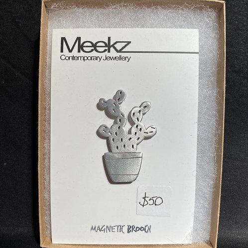 Meeks Jewellery - Magnet Badge Prickly Pear
