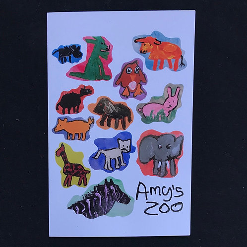 Amy's Zoo Gift Card